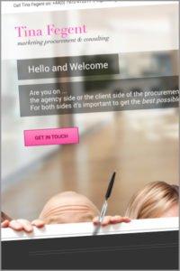 Tina Fegent Website