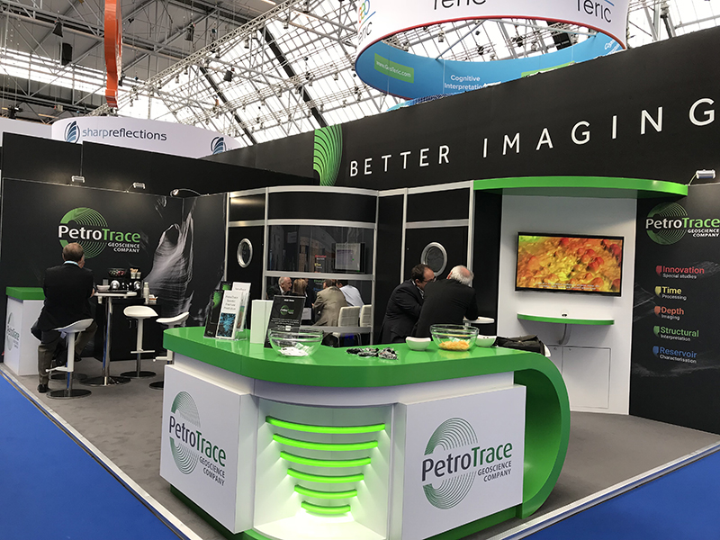 PetroTrace trade stand