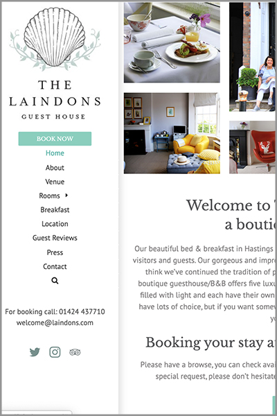The Laindons Hastings Website