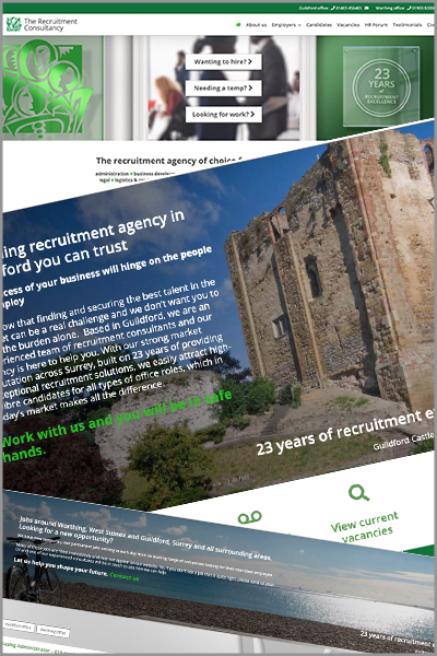 The Recruitment Consultancy Guildford Website