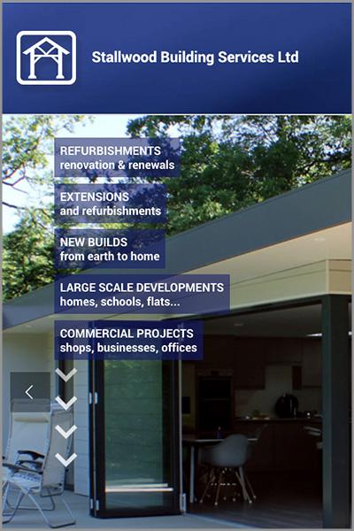 Stallwood Building Services Website Guildford