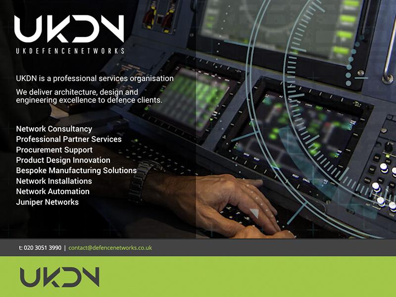 UK Defence Networks website