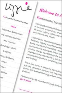 Lizzie Palmer Website