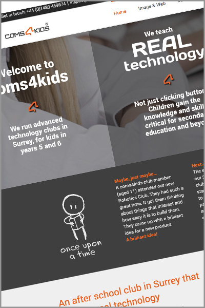 coms4kids website