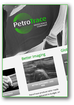 PetroTrace Website