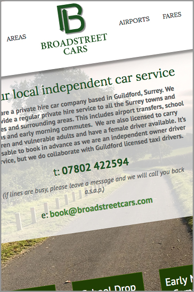 Broadstreet Cars Website