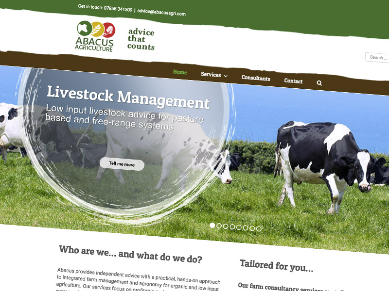 Abacus Agriculture Website