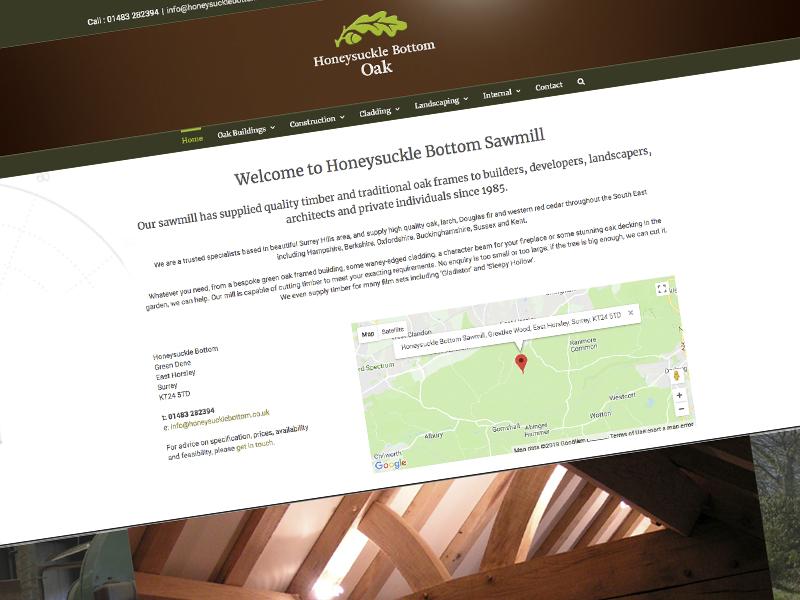 Honeysucklebottom Sawmill Website